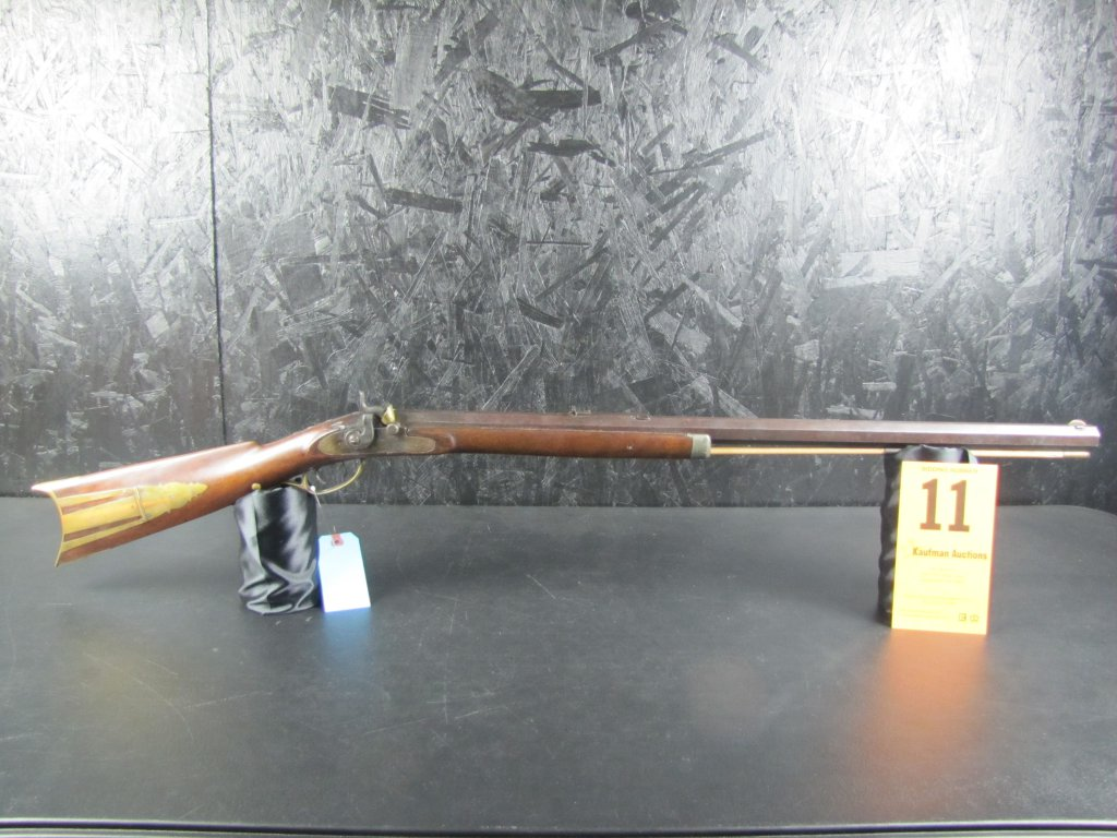 F.A. Schnider Marked Barrel - Stark Co. Ohio - Half Stock .36 Cal. Muzzleloader