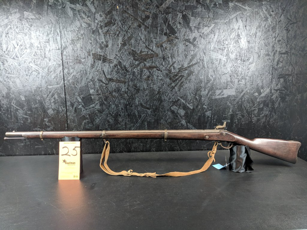 Unknown Military Musket - .68 Cal. - Steel Ramrod