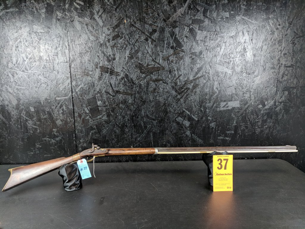 Unknown .38 Cal. Muzzleloader - Half Stock