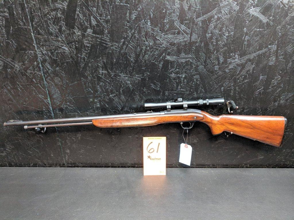 J.C. Higgins Model 31 - .22 Cal. - Tasco 3-7x20 Scope