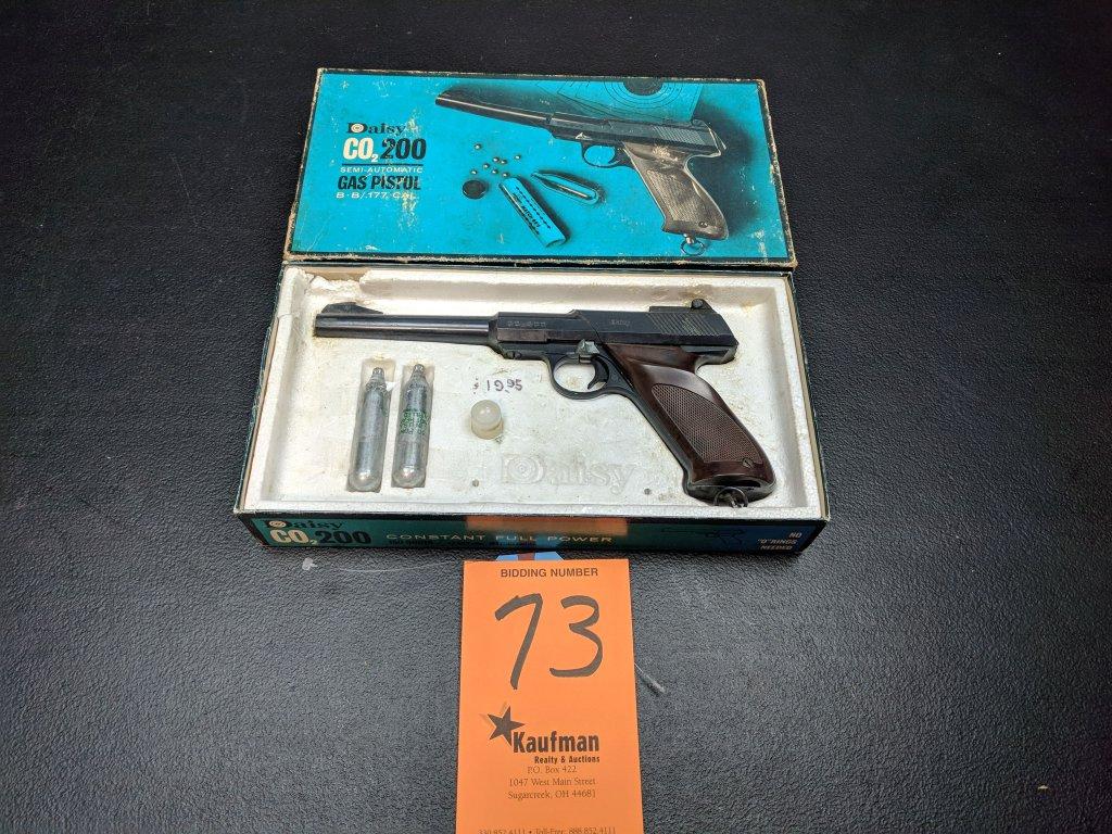 Daisy Model CO2 200 Gas Pistol - Original Box