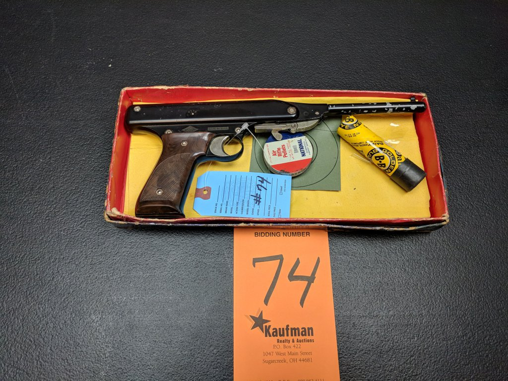 Nuova Oklahoma BB Gun - Original Box in Poor Condition