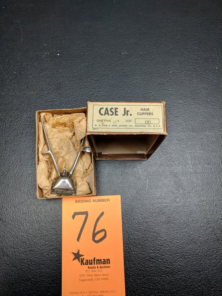 Case Jr. Hair Clippers - Orignal Box
