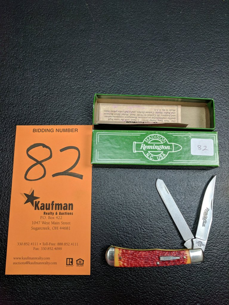 Remington 2 Blade Pocket Knife - Madison - with box