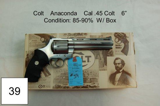 Colt Anaconda Cal  45 Co    Auctions Online   Proxibid