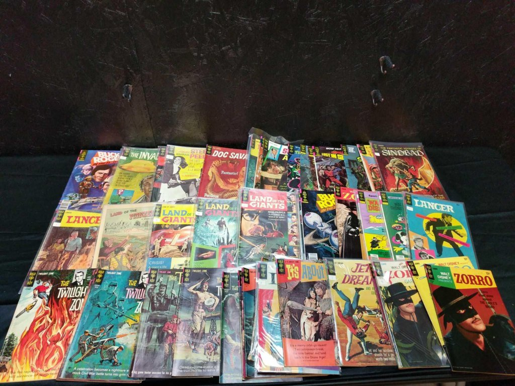94 gold key comic books