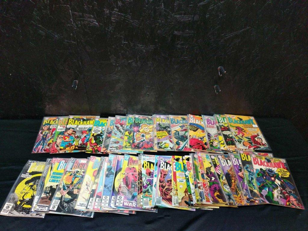 64 Blackhawk comic books