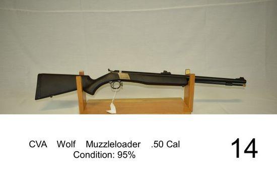 CVA Wolf Muzzleloader     Auctions Online | Proxibid