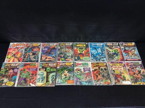 16 Sub-Mariner comic books
