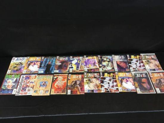 20 Alias & Bloodstone Comic books