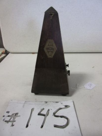 FRENCH METRONOME TIME KEEPING     Auctions Online   Proxibid