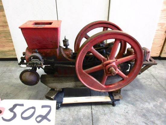 5 HORSE POWER WONDER  ENGINE WITH WEBSTER MAG. EARLY RESTORATION VERY NICE WILL NOT TAKE MUCH TO HAV