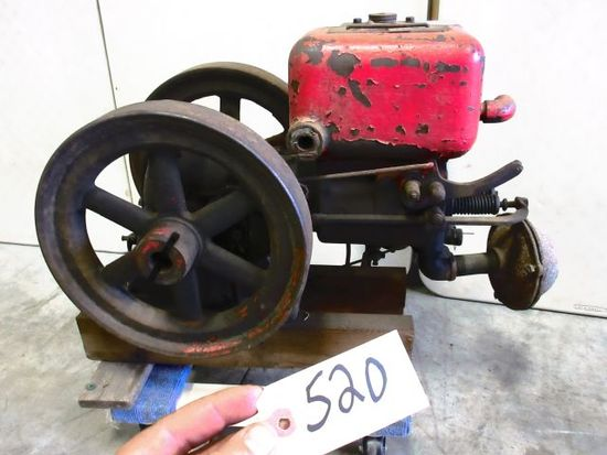 PONTIAC TRACTOR CO. 1 1/2 H.P. COMPLETE READY TO USE WOW WHAT A GREAT RARE ENGINE
