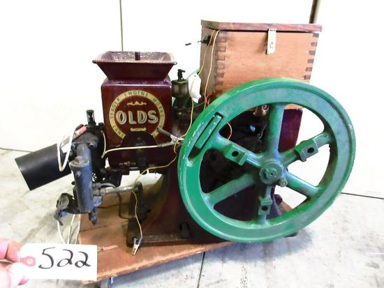 SEAGER OLDS TYPE A 1 1/2 H.P. RESTORED READY TO GO TO THE SHOW VERY NICE PIECE