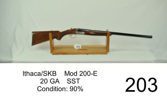 Ithaca/SKB Mod 200-E 20     Auctions Online   Proxibid