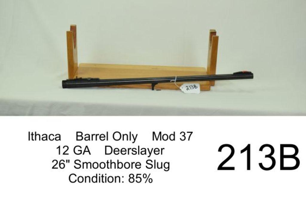 Lot: Ithaca Barrel Only Mod 37 12 GA Deerslayer 26