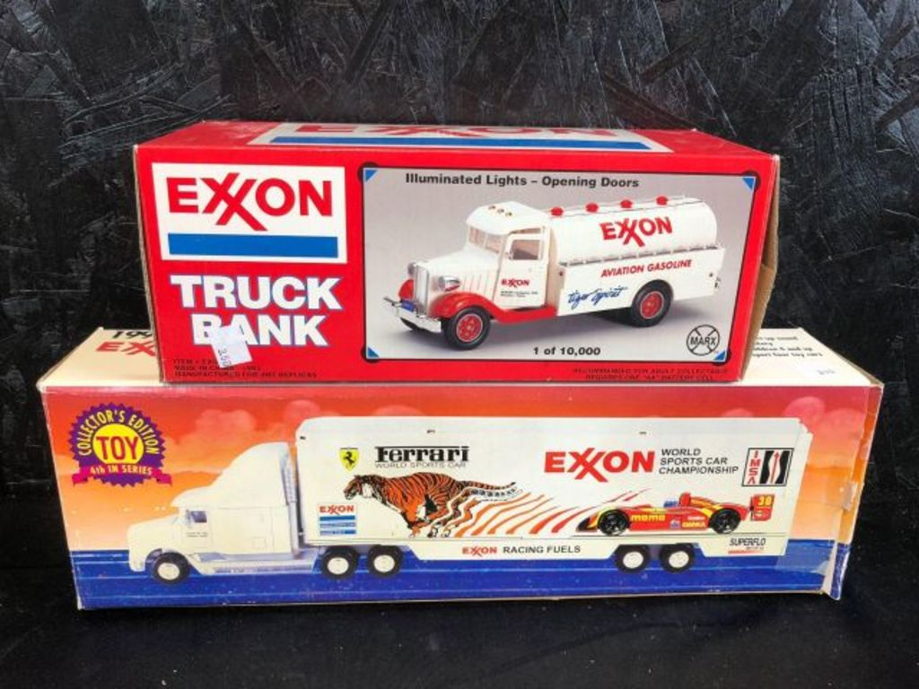 Excon Truck Bank Aviation Gasoline