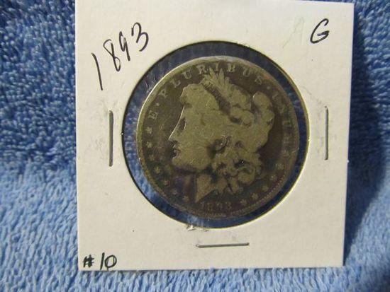 1893 MORGAN DOLLAR G