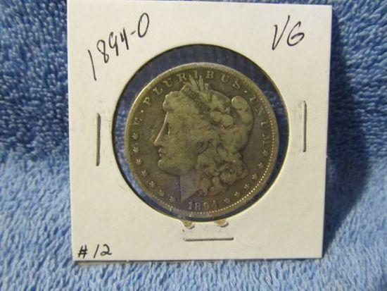 1894O MORGAN DOLLAR F