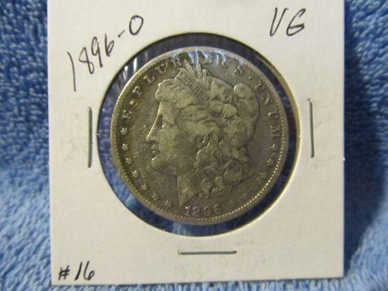 1896O MORGAN DOLLAR F
