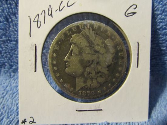 1879CC MORGAN DOLLAR VG