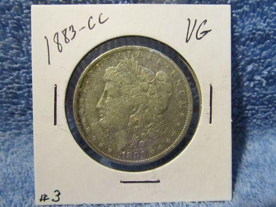 1883CC MORGAN DOLLAR F