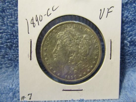 1890CC MORGAN DOLLAR XF