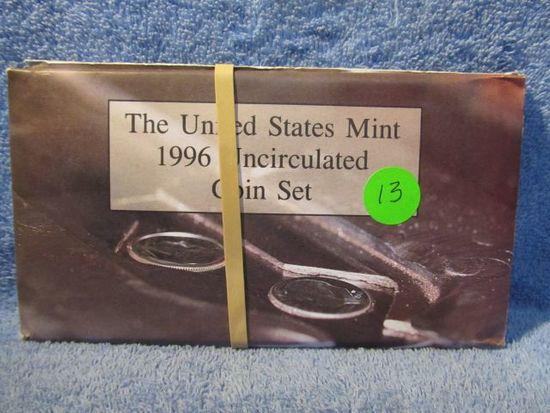 2-1996 MINT SETS W/WEST POINT DIMES