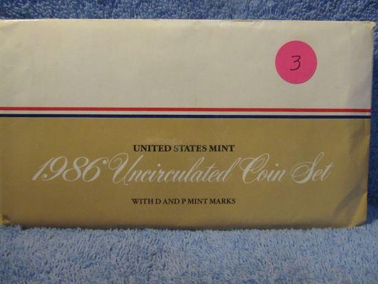 1986 MINT SET