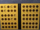 1909-1940 LINCOLN CENTS SET IN ALBUM (MISSING 9-COINS)