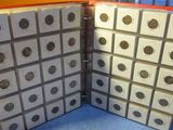 413 ASSORTED LINCOLN WHEAT PENNIES IN BINDER