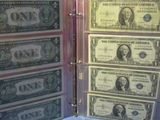 2003 UNCUT SHEET OF $2. NOTES IN HOLDER CU