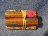 6 ROLLS OF LINCOLN CENTS 1980-82 BU