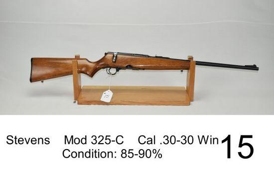 Stevens    Mod 325-C    Cal .30-30 Win    Condition: 85-90%