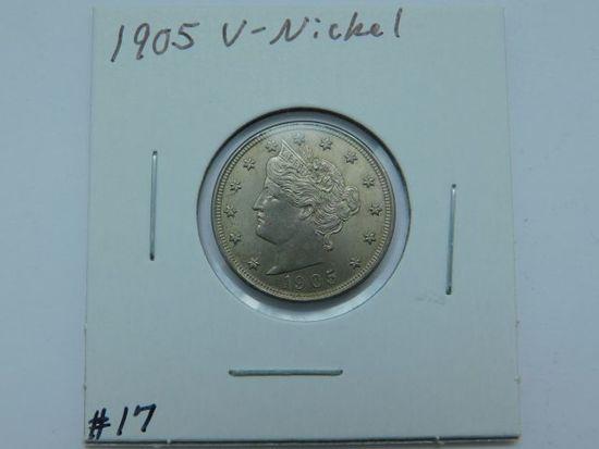 1905 V-NICKEL (NICE) BU