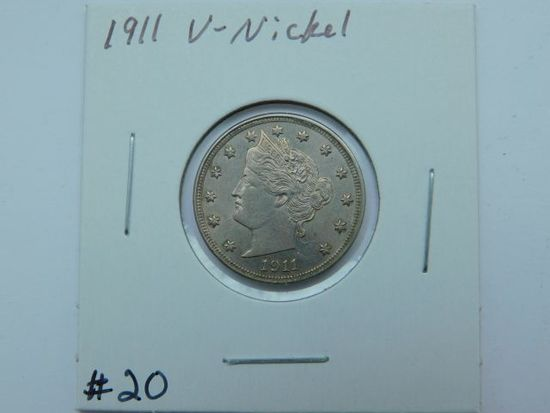 1911 V-NICKEL (NICE) BU