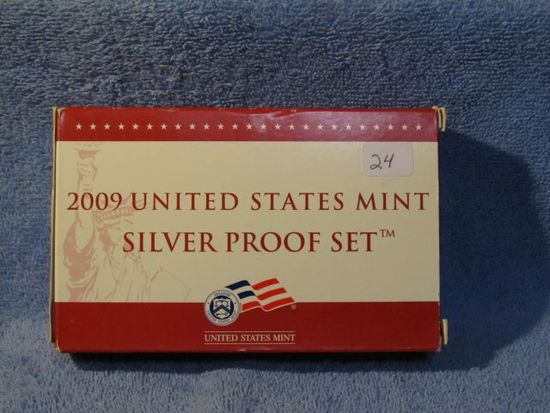 2009 SILVER PROOF SET