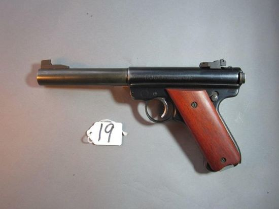 Ruger 22 cal auto pistol