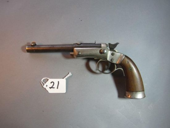 Stevens pistol, single shot