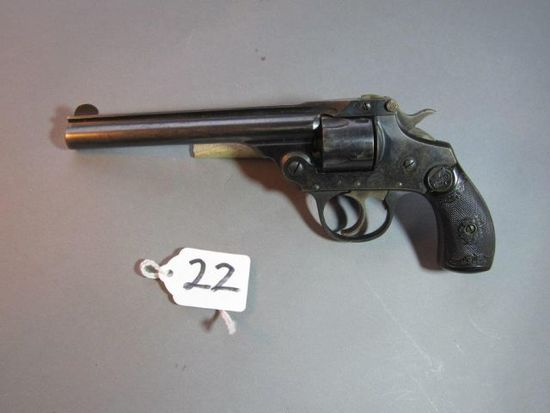Iver-Johnson 5 shot revolver, 32 cal