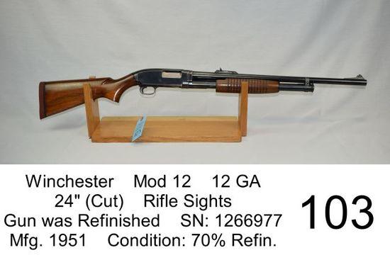 Gun Auction - Knives - Vintage Boat Motors