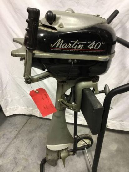 1948 Martin Outboard Motor w/ stand