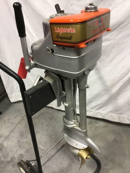1934 Evinrude Lightwin Imperial