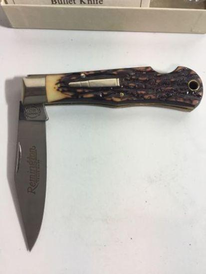 Remington Tracker Bullet Knife