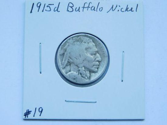 1915D BUFFALO NICKEL G