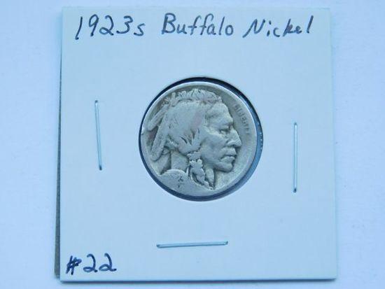 1923S BUFFALO NICKEL G
