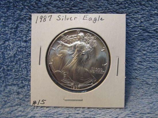1987 SILVER EAGLE BU