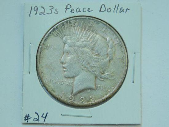 1923S PEACE DOLLAR