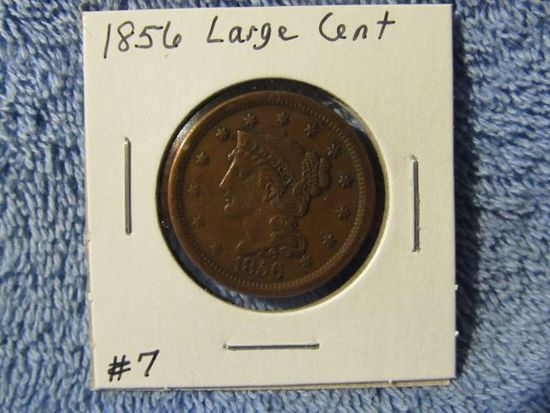1856 LARGE CCENT (NICE) XF