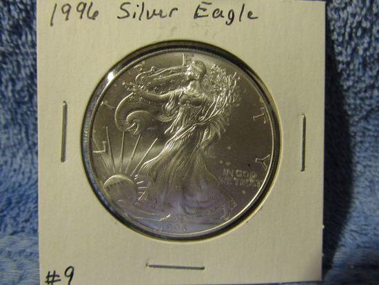 1996 SILVER EAGLE (KEY DATE) BU